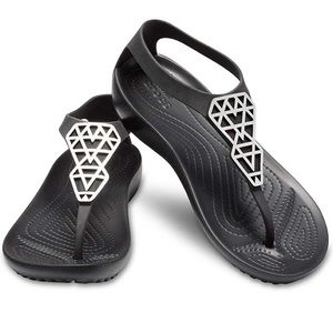✨ CROCS Serena Embellished Sandal
